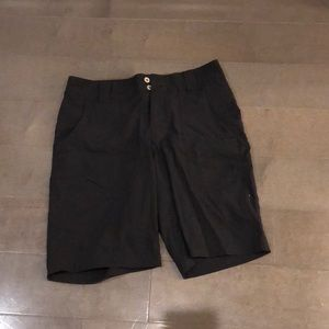 Lucy Sz S black Bermuda shorts, great condition